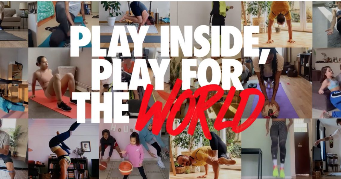 #PLAYINSIDE, PLAY FOR THE  WORLD