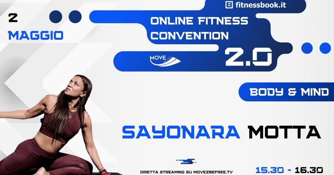 Partecipate alla mia lezione in streaming di Yoga Vinyasa Flow, iscrivetevi e alleniamoci insieme in sicurezza! A grande richiesta torna la Online Fitness Convention 2.0, seconda edizione del grande evento […]