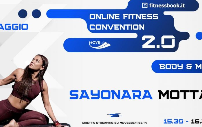 #stayhealt, #staysafe: allenatevi con me alla Fitness Convention Online!