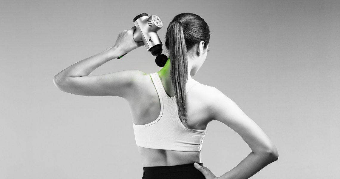 Hypervolt, la pistola per massaggi perfetta per chi si allena